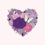 Heart Of Flowers - Valentines Day