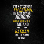 Batman 2 - VISUAL STATEMENTS