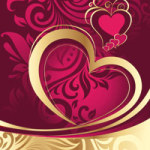 Heart Gold Look - DeinDesign